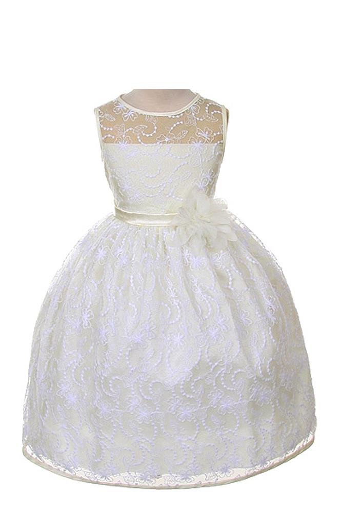 Kids Dream Girl's Elegant Flower Girl Party Holiday Dress at Sears.com